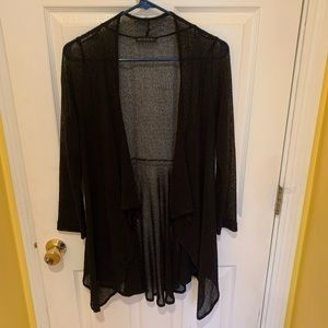 Nally and milly black over shirt